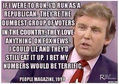 dumbest voters